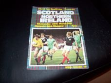 Scotland v Northern Ireland, 1981 [WC]